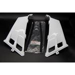 NEW Vito's Yamaha Banshee plastic gas tank side covers grill 1987-2006 WHITE