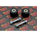2 x Yamaha Banshee 87-06 Chain roller upper lower swingarm 42mm BLACK Vito's