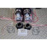 NEW 2 x 35mm carburetors carbs throttle cable Banshee pod filters intakes