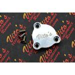 Neutral safety switch block off cover plate BILLET ALUMINUM Yamaha Banshee