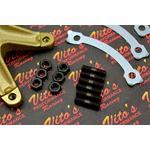 Vito's Sprocket Hub Banshee / Blaster Studs Nuts Locks Sprocket 44 Tooth