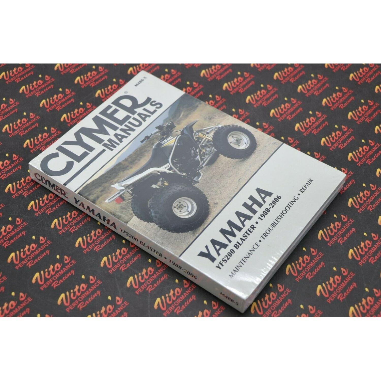 Clymer ATV/UTV Repair Manuals M4885, M488-5 YFS200