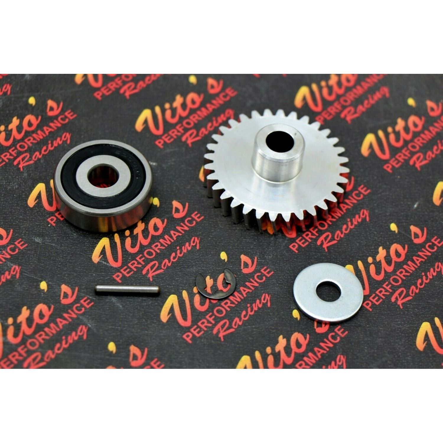 Vito's Banshee BILLET GEAR aluminum water pump