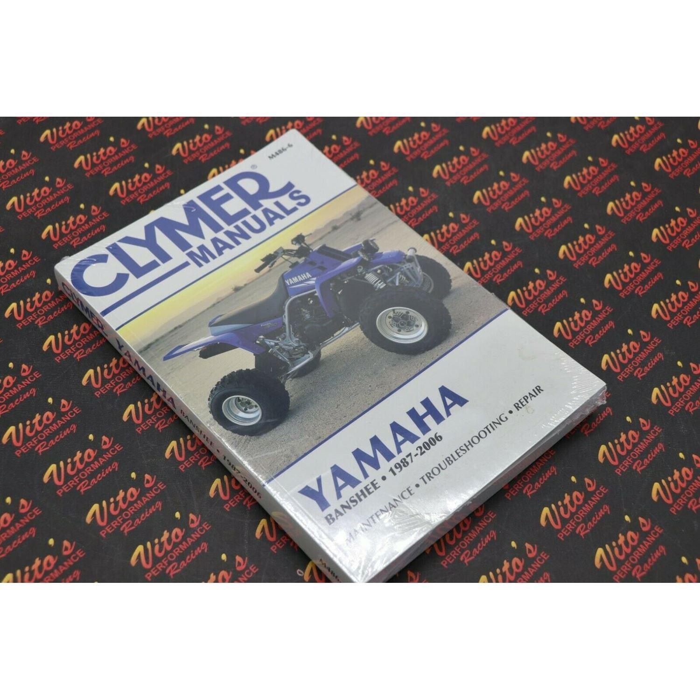 Clymer ATV/UTV Repair Manuals M486-6 YFZ350 Banshe