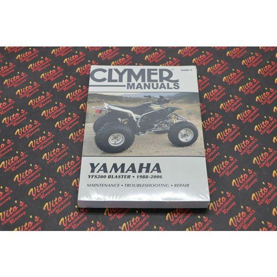 Clymer ATV/UTV Repair Manuals M4885 M488-5 YFS200 Blaster 200 1988-20062