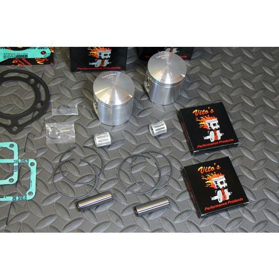 Vito's Performance SUPER STOCK Banshee pistons gasket kit 8hp over stock 6450