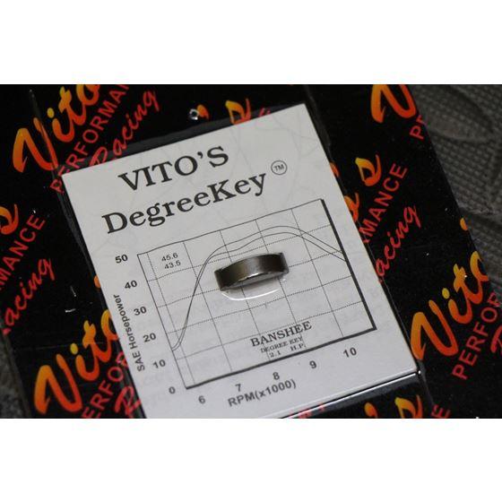 VITO's advanced timing key 4 advance Banshee flywheel degree WOODRUFF 1987-2006