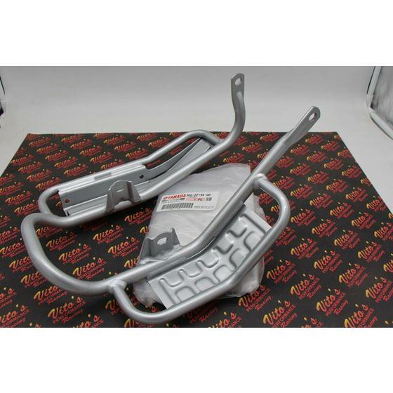 NEW skidplate skid OEM Yamaha Banshee rear swingarm protector guard 1987-2006