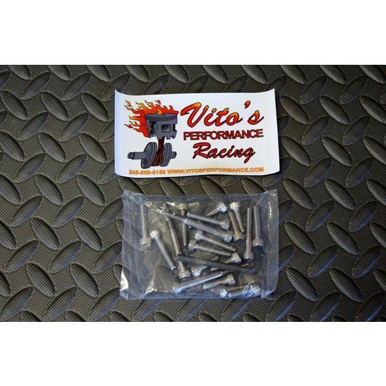 Vito's Performance Stainless BOLT KIT Yamaha Banshee Clutch Stator Cover