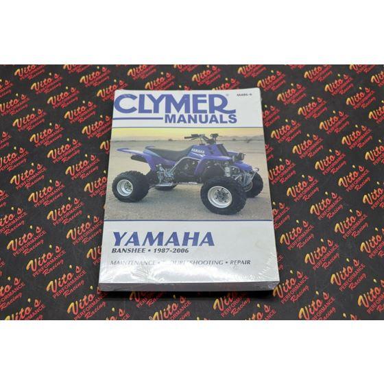 Clymer ATV/UTV Repair Manuals M486-6 YFZ350 Banshee 1987-20062