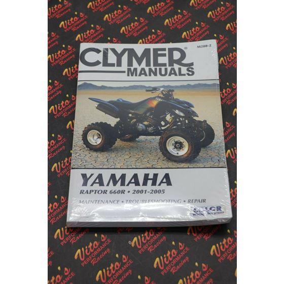 Clymer ATV/UTV Repair Manuals M280-2 M2802 Raptor 660 2001-20052